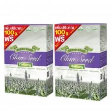 Nathary Chia Seeds เมล็ดเชีย 450 g (2กล่อง)